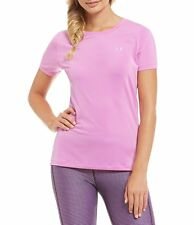 UNDER ARMOUR WOMEN'S UA HEATGEAR  SHORT SLEEVE SHIRT #1285637-NWT