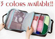 Korean Multifunctional Hand Bag Large Capacity Storage Pouch 3 Colors