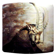 switch, plug, pushbutton, tv, phone, decorated ibex collection mountain
