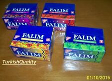FALIM Sugar Free Bubble Chewing Gum (6 Delicious Taste Options) 1 box 100 pcs