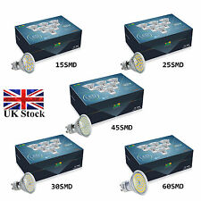 6 12 30 X GU10 MR16 LED Bulbs SMD Lamp Spot Light High Power Warm / Day White UK