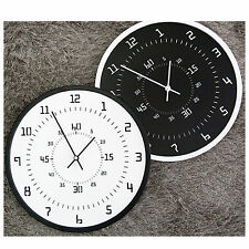 Kids Room Reading Clock Art Decor Silent Wall Clocks Wood design Clock Gift NEW