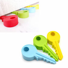 Silicone Key Door Wedge Stopper Children Baby Safety Protection Home Decor New