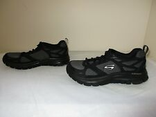 NEW Skechers Mens Sport Flex Advantage First Team Athletic Shoes 51460EW Blk 61M