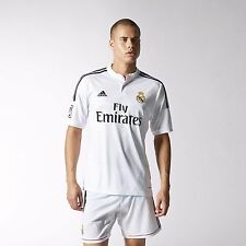Adidas Real Madrid Home Jersey Shirt Soccer F50637 100% Authentic White $90 LG