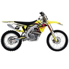 Suzuki EVO 14 Shroud Graphic Decals Wrap Kit Factory Effex Motocross Dirt Bike