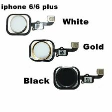 3 colors Touch ID Sensor Home Button Key Flex Cable Repair for iPhone 6 & Plus