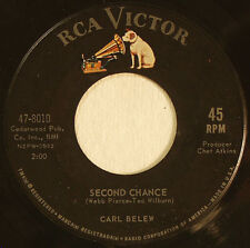 Carl Belew, Second Chance - Odd Man Out, RCA 47-8010