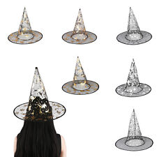 Witch Hat Witches Fancy Dress Halloween Dressing Up Costume Party Trick or Treat