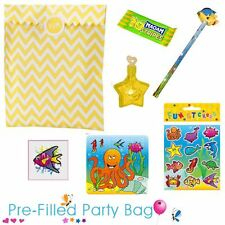 Pre Filled Ready Made Party Bag - Unisex Sealife - Option 1