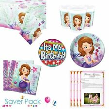 Sofia The First Party Tableware Saver Pack
