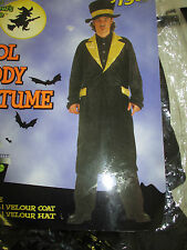 Mens Cool Daddy Velour Hat Halloween Costume Accessories, SEE DETAILS