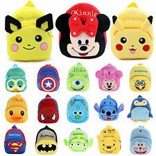 Boys Girls Kid Cartoon Backpack Schoolbag Small Shoulder Bag Bookbag Rucksack