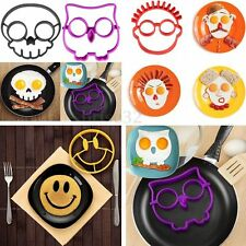 Silicone Kitchen Cooking Fried Oven Poacher Pancake Egg Poach Ring Mold Mould BE