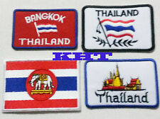 4 Designs Thailand  - or 4 pcs Set at 25% DISCOUNT! BUY PATCHES TRAVEL THE WORLD