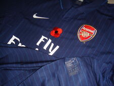 Arsenal NIKE 2009-10 EPL Remembrance (vs Wolverhampton) L/S Player-issue Shirt