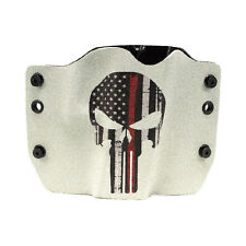 Colt, CZ, Diamondback, FN, Punisher Red Line Gray, Kydex OWB Gun Holsters