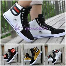 Chic Men High Top Sneakers Ankle Boots Lace Up Martin Casual Skate Shoes B