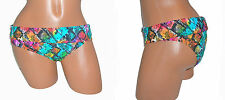 ROXY JR S 2 4 M 6 8 L 10 12 SWIMSUIT BIKINI BOTTOM SNAKE BANDED HIPSTER 4220