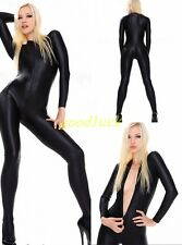 Nice New Spandex Black Lycra Zentai Suit Bodysuit Halloween party Dance Catsuit