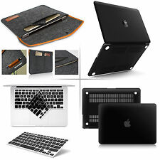 """For Apple macbook Pro 13"""" Air 11"""" Rubberized Hard Case Sleeve Bag Keyboard Cover"""
