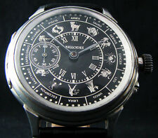 BILLODES Early ZENITH Antique Deco Large Wristwatch Sil