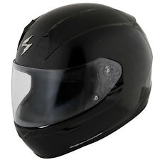 Scorpion EXO-R410 Solid Gloss Black Snell/DOT Full Face Motorcycle Helmet