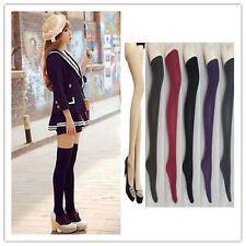 Hot  Sexy Womens Lady Girls  Opaque Knit Over Knee Thigh High Stockings Socks