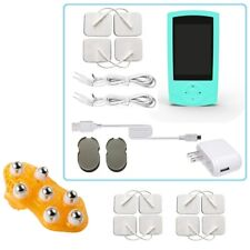 TENS Unit Tens Massager Digital Therapy Acupuncture Pads Machine TWO outputs D