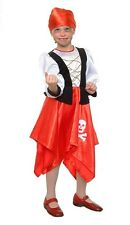 Girl Pirate Fancy Dress Children Carnival Kids Birthday Party