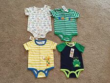 New First Impressions Baby Boys Creeper Bodysuit. Size 0-3, 3-6, 6-9 Months