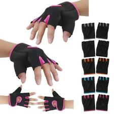 AntiSlip Cycling Gloves Bicycle Riding Gel Sports Half Finger Mitten Shockproof