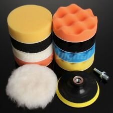 "11Pcs/Set 3""/5""/6""/7"" Car Polisher Polishing Cleaning Buffing Waxing Buffer Pads"