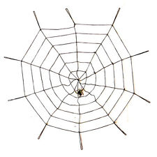 Gothic Spooky Spider Web Haunted House Halloween Decor Prop Decoration