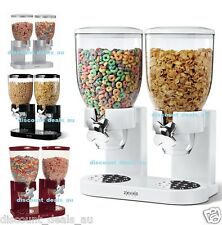 Cereal Nuts Dispenser Coffee Candy Lolly Dry Food Dispenser 2x 500g BenchTop NEW
