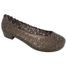 NEW Womens shoes Daisy Bronze Ballet Flats Jelly Shoes