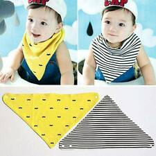 1 Pcs Feeding Baby Kids Dribble Triangle Scarf Cotton Bandana Bibs Saliva Towel