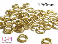WHOLESALE Gold Filled 1/20 12K Open Jump Rings 19 Gauge 0.9x3mm