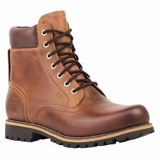MENS TIMBERLAND RUGGED 6 INCH WATERPROOF BOOT TB074134 BROWN