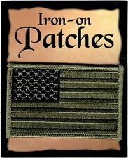 United States US Flag Iron-On Patch [Pre-Pack]