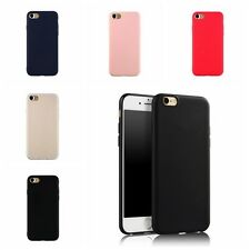 Solid Ultra-thin Matte Hard Back Case Soft Cover Skin for iPhone 7 7 Plus