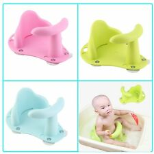 Baby Bath Tub Ring Seat Infant Child Toddler Kids Anti Slip Safety Chair 3Colors
