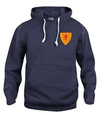 SALE!!! Retro Scotland 1960s Football Hoodie Embroidered Logo Size S