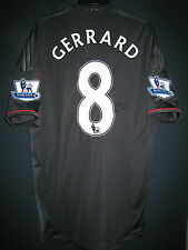 Liverpool 2011-12 EPL ADIDAS Techfit Player issue Away Shirt #8 Steven GERRARD