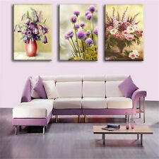 Modern Canvas Art Oil Painting Wall Pictures for Living Room No Frame 3PCS