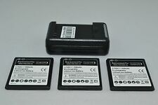 Samsung Galaxy S i9000 Epic Batteries x 1 2 3 or Charger for T959 i897 EB575152