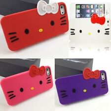 Hello Kitty Case Cover Skin Accessory for Apple iPhone 5, iPhone 5S, iPhone SE