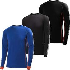 2017 Helly Hansen Warm Ice Crew Mens Lifa® Merino Wool Shirt Baselayer