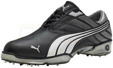 Puma Cell Fusion Golf Shoes Black/Silver all sizes NEW 1446 Size 7 M