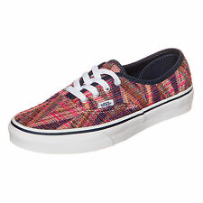 New Vans Authentic Woven Chevron Pink / True White Women's shoes Trainer V18BGY6